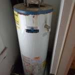 Failing/Improper installed water heater.